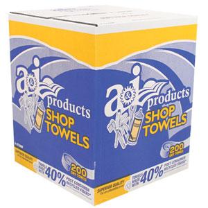 Shop Towels Box 200 Count 10 X 12