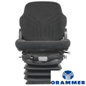 MSG95GGRC - Grammer Series Driver Seat Charcoal Matrix Cloth
