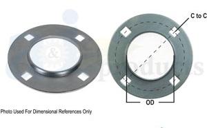 Bearing flange dimensions