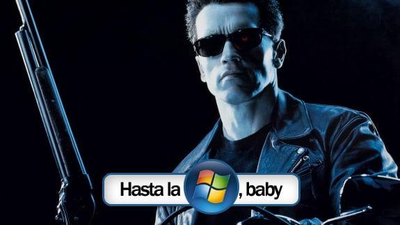Frase de Terminator 2: Hasta la Microsoft Vista, Baby