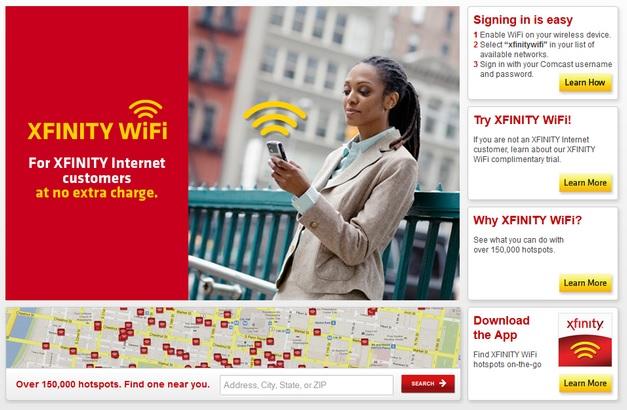 Xfinity WiFi Everywhere