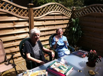 Activities on the Decking - 2013