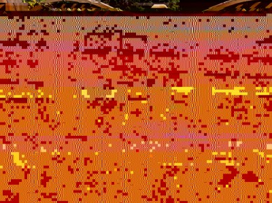 Residents Relaxing on the Decking - 2013