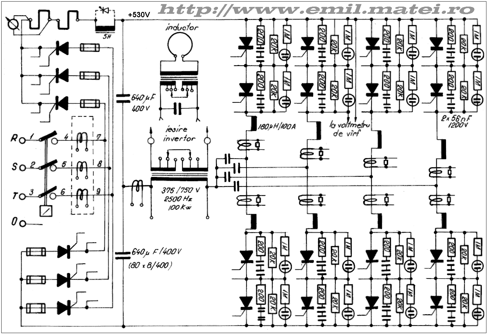 Welding Inverters Control Practical Schematics