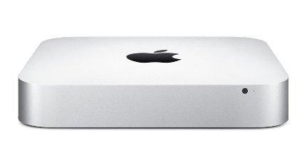 Imagen frontal de un Mac mini