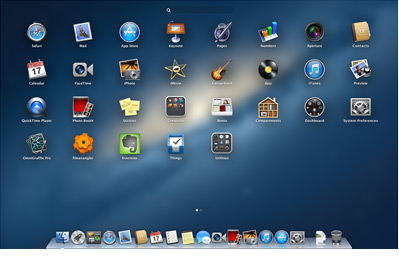 Launchpad en Mountain Lion