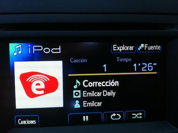 Emilcar Daily en un Prius