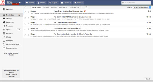 FastMail - Inbox