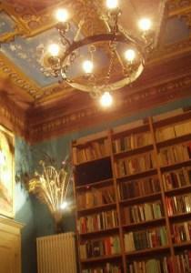 The library at castello di Galeazza