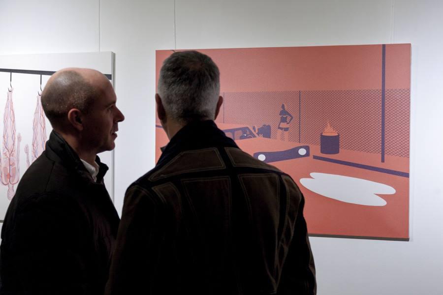 INFERNO EXHIBITION, February 25/March 21 2014, Berlin Italienisches Kulturinstitut [img 6]