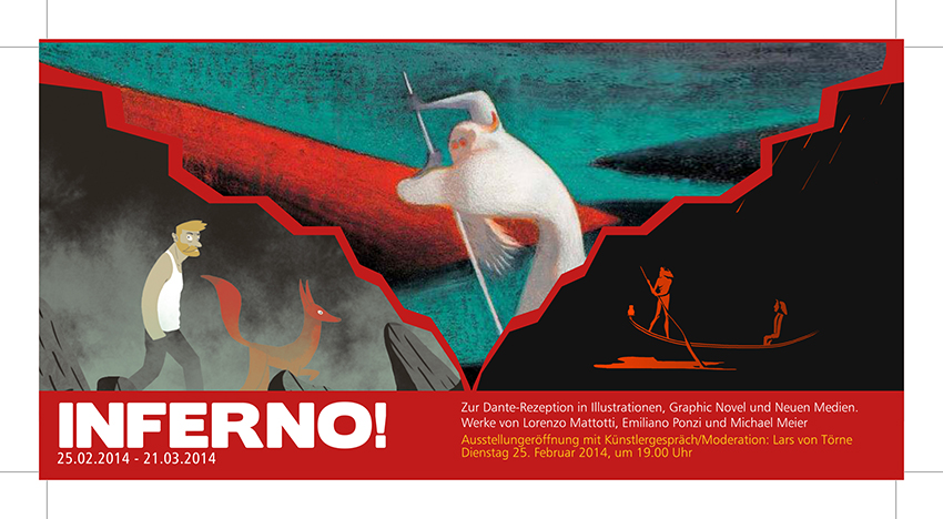INFERNO EXHIBITION, February 25/March 21 2014, Berlin Italienisches Kulturinstitut [img 3]