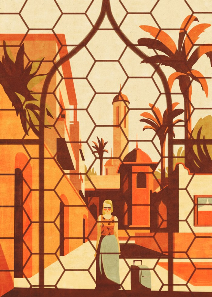 No way out Los Angeles Times travel cover Emiliano Ponzi
