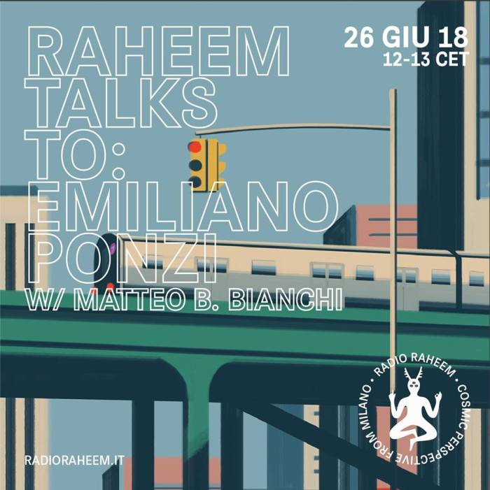Raheem Talks To Emiliano Ponzi