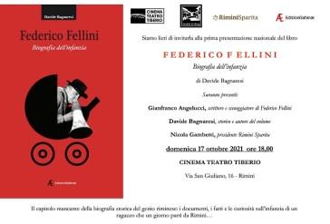 Biografia infanzia di Federico Fellini domani la presentazione a Rimini