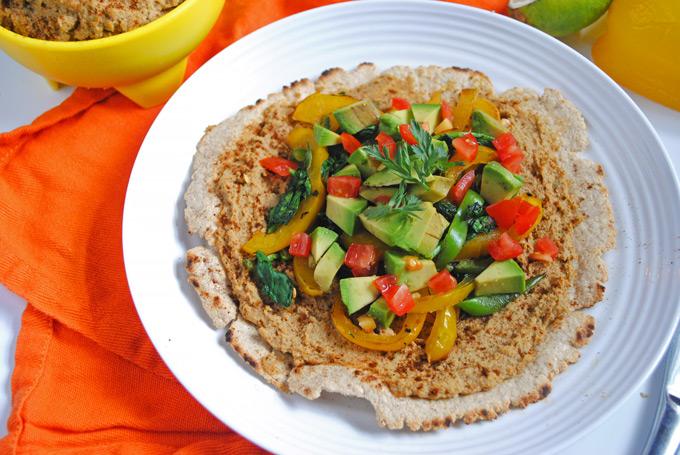 Chipotle Hummus & Oat Flour Tostadas (+ chips!) | Emilie Eats
