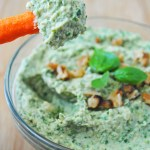 Kale Pesto Hummus