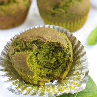 Gluten-Free Spinach Muffins