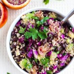 Blood Orange Quinoa Salad + 4 Citrus Packed Recipes