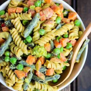 Vegan Curried Pasta Salad