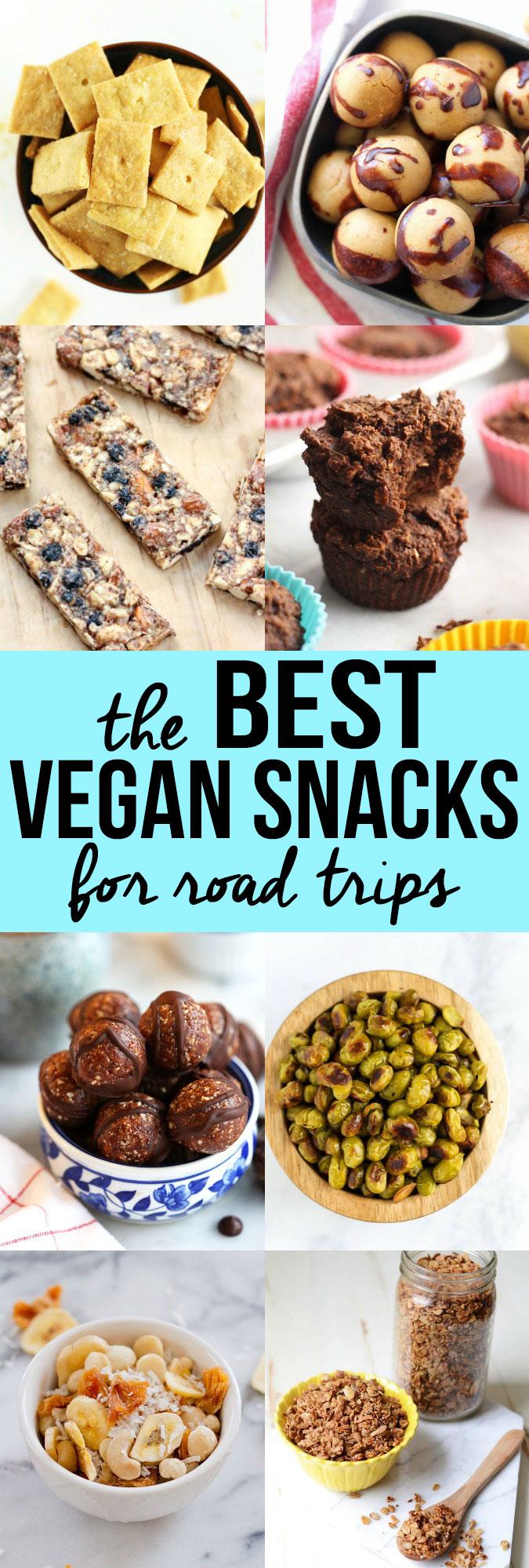 The Best Vegan Snacks For Road Trips Emilie Eats