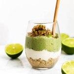 Key Lime Pie Chia Pudding Parfaits