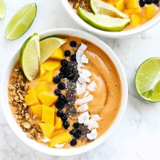Mango Lime Smoothie Bowl