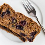 Vegan Blueberry Zucchini Bread