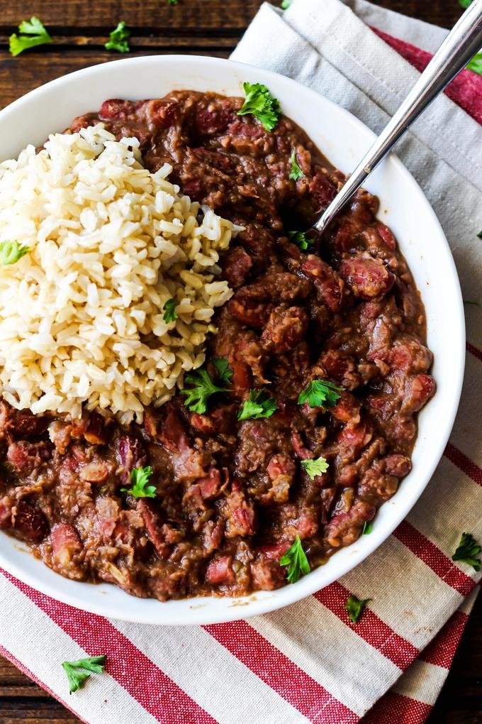 Cajun-Style Vegan Red Beans and Rice
