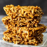 Pumpkin Rice Crispy Treats (vegan & gluten-free)