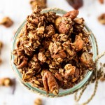 Chai Spice Granola (oil-free & date-sweetened)