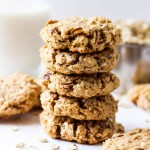 Almond Coconut Oatmeal Cookies (vegan & gluten-free)