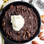 Vegan Skillet Brownie (with Lentils!)