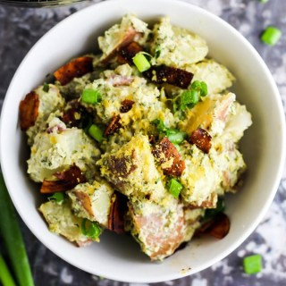 Vegan Bacon Ranch Potato Salad