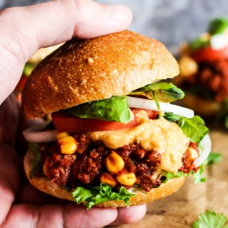 Mini Mexican Vegan Sloppy Joes