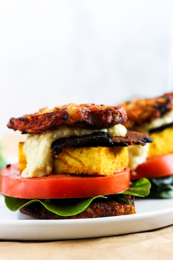 This Vegan Waffle Breakfast Sandwich Is The Ultimate Brunch Recipe To Please Everyone Its Loaded