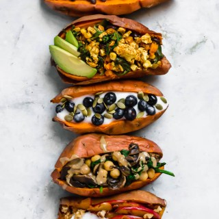 Stuffed Breakfast Sweet Potatoes: 5 Ways