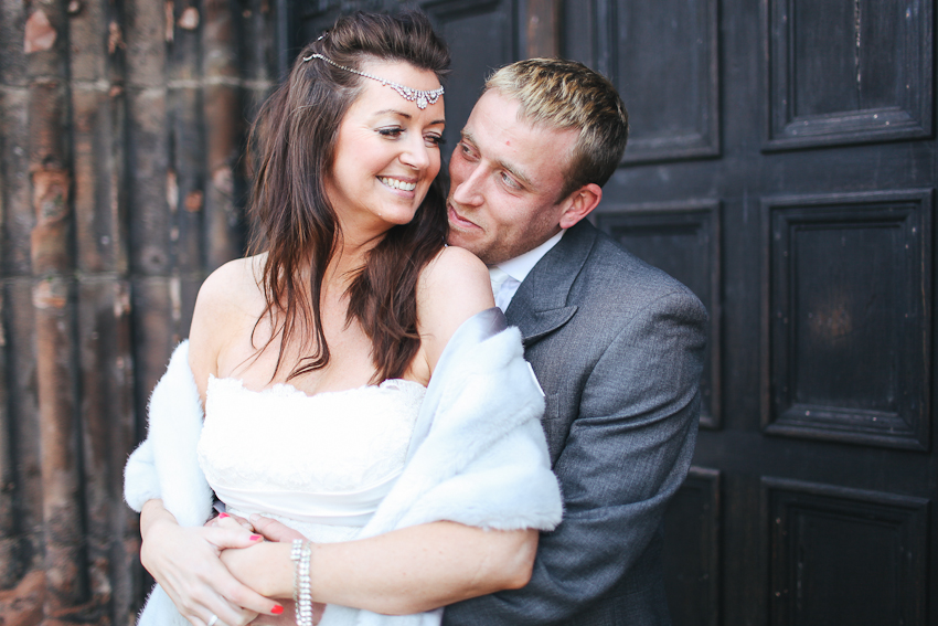 Intimate Warrington wedding