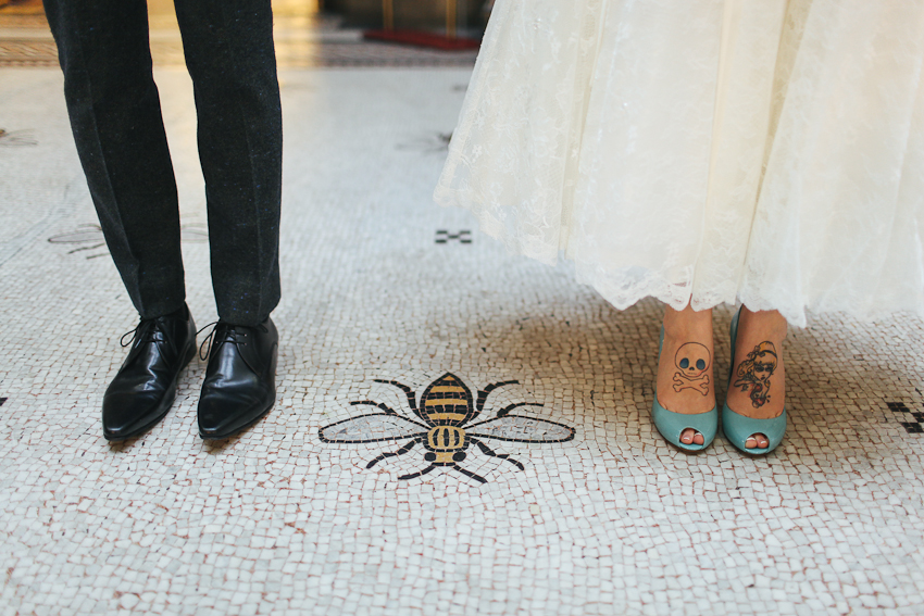 Manchester bee - Wedding photography