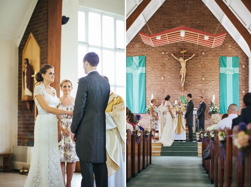 Relaxed church ceremony Tottington