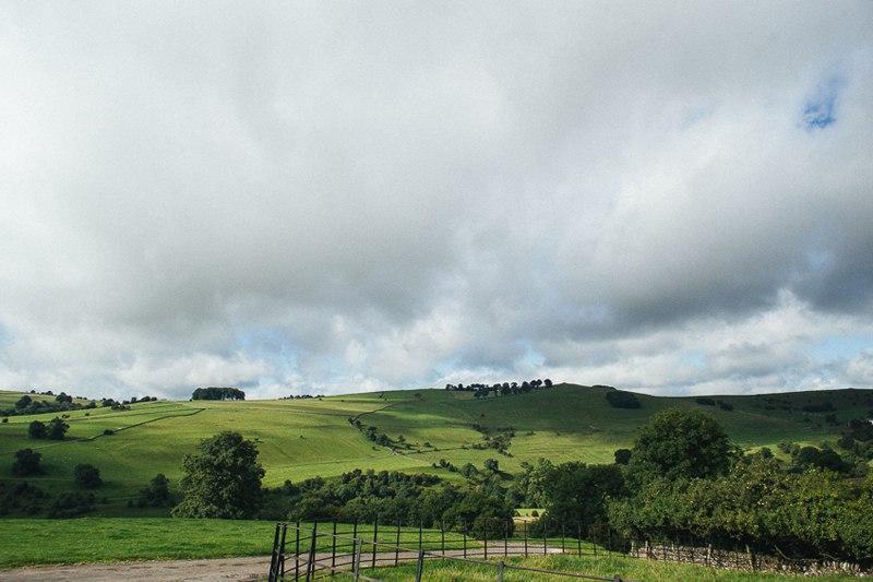Fields in Ashbourne