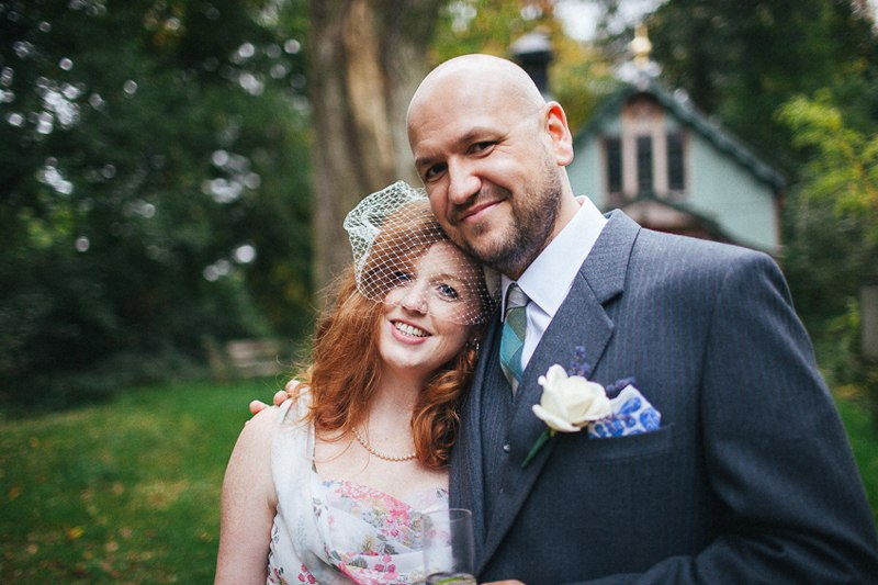 Walcot Hall wedding - Photographs at the tin chapel.