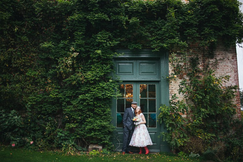 Walcot Hall Wedding Photographer - Quirky colourful and vintage theme