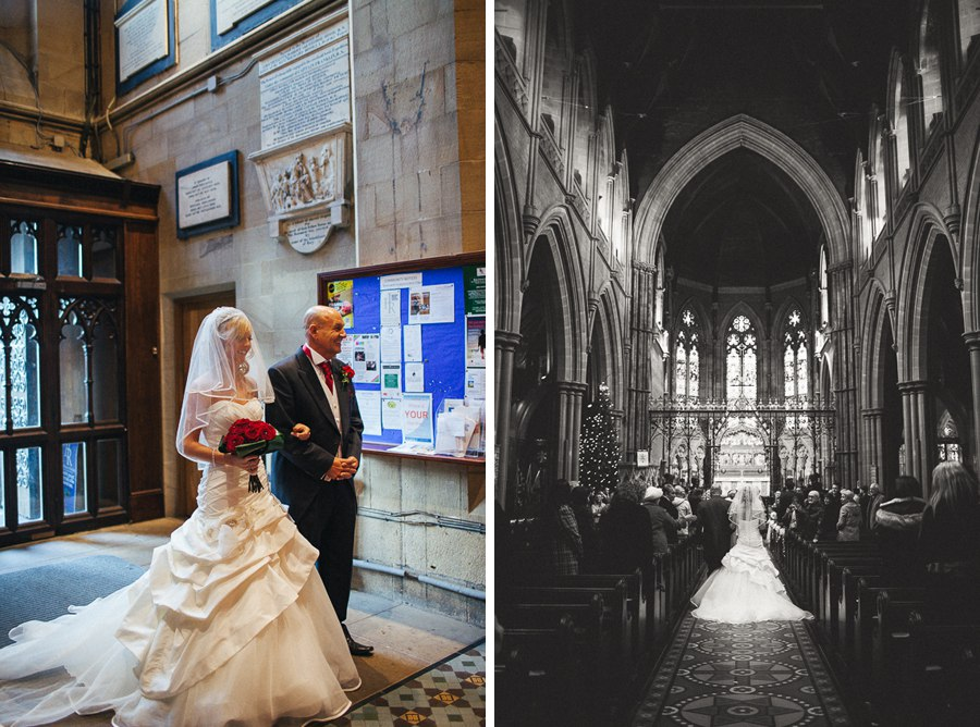 Church wedding Bury