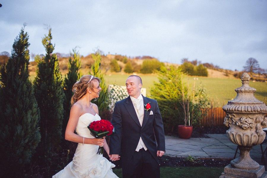Beautiful winter wedding Lancashire