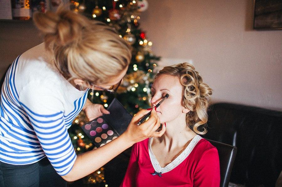 Bury wedding makeup