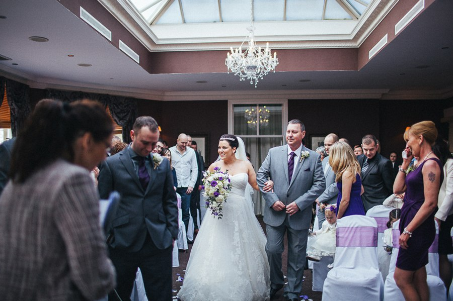 Hollin Hall wedding