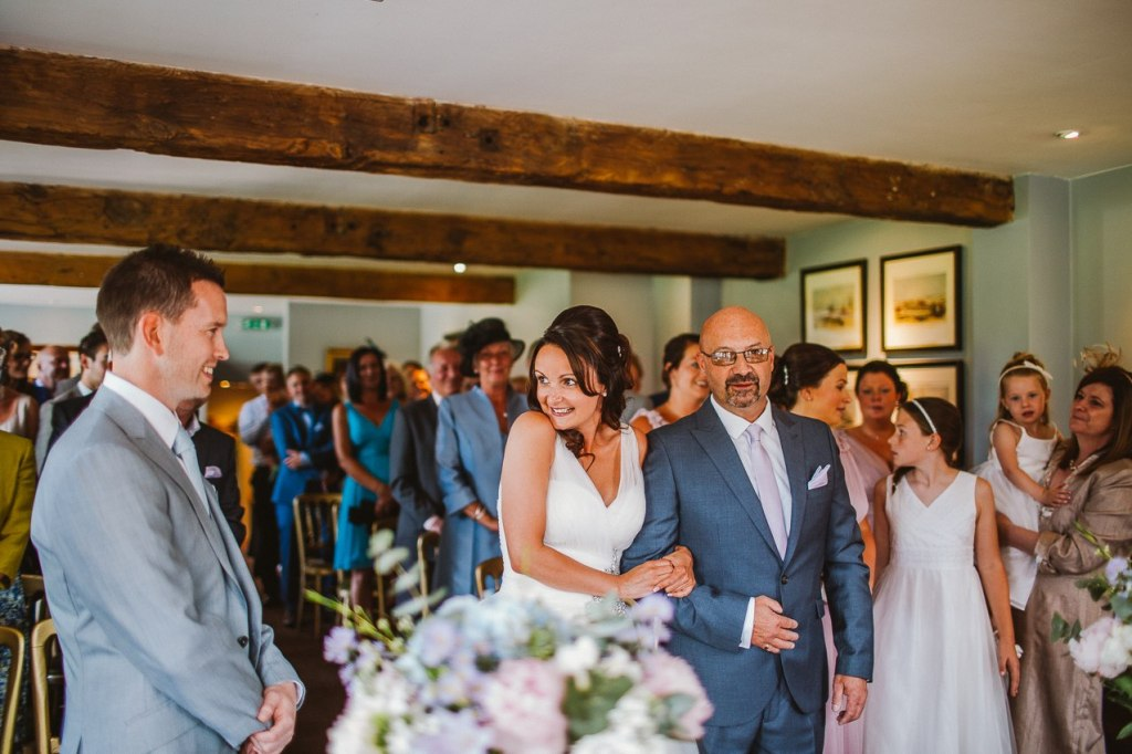 Inn at Whitewell wedding - Natural wedding photography