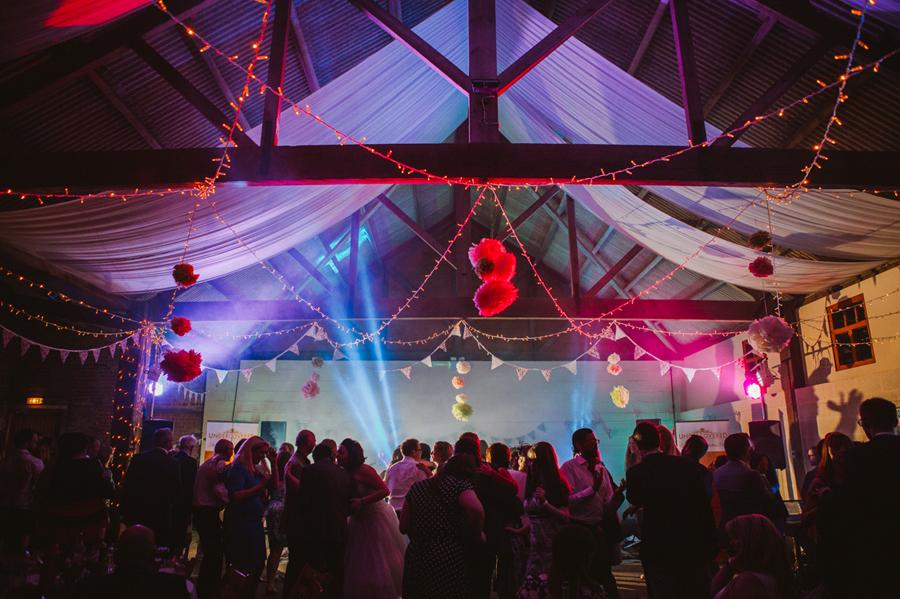 Barmbyfield Barns Wedding Photography - Festival Wedding