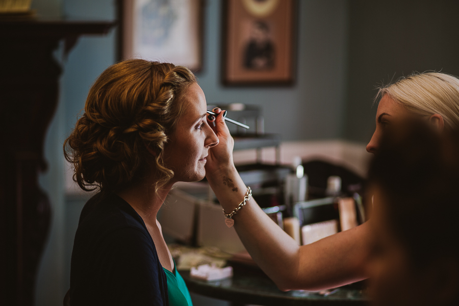 Cubley Hall Wedding - Jodie A Smith Make Up