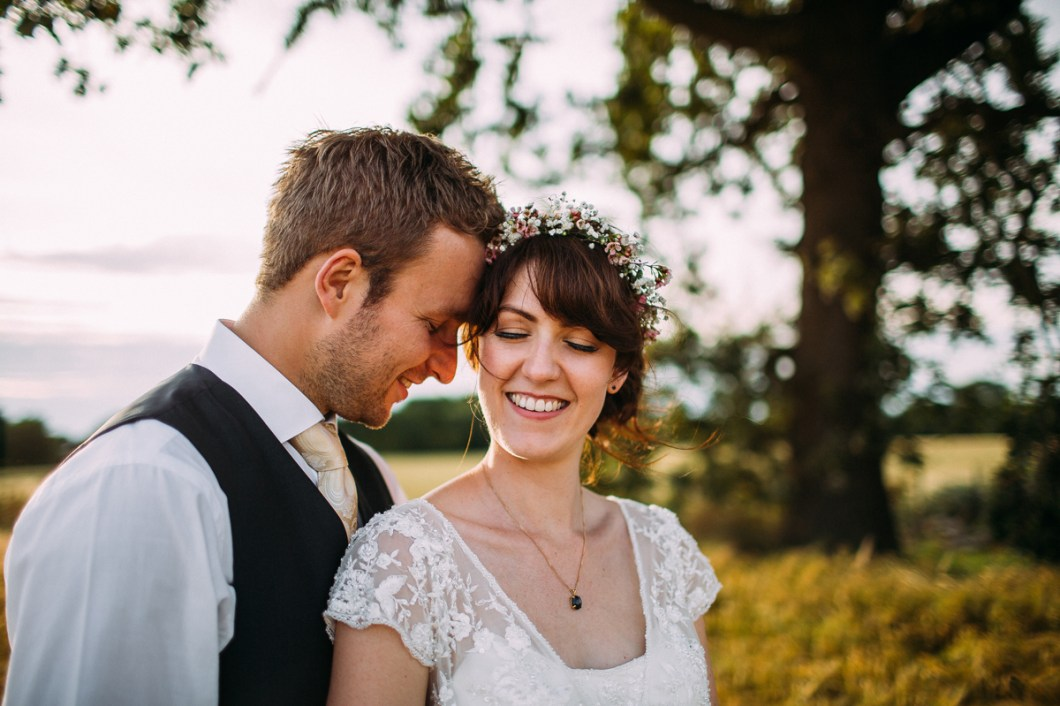 Summer outdoor wedding in Burscough